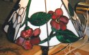 Tiffany flower lamp.
