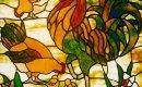 Rooster door panel.