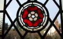 Tudor rose detail.